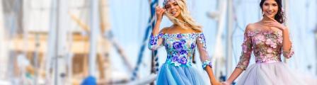 Какие еще есть самые модные выпускные платья 2018?