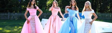 Самые модные выпускные платья 2018.